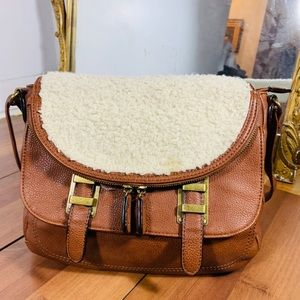 Hibou leather made in Canada hand bag